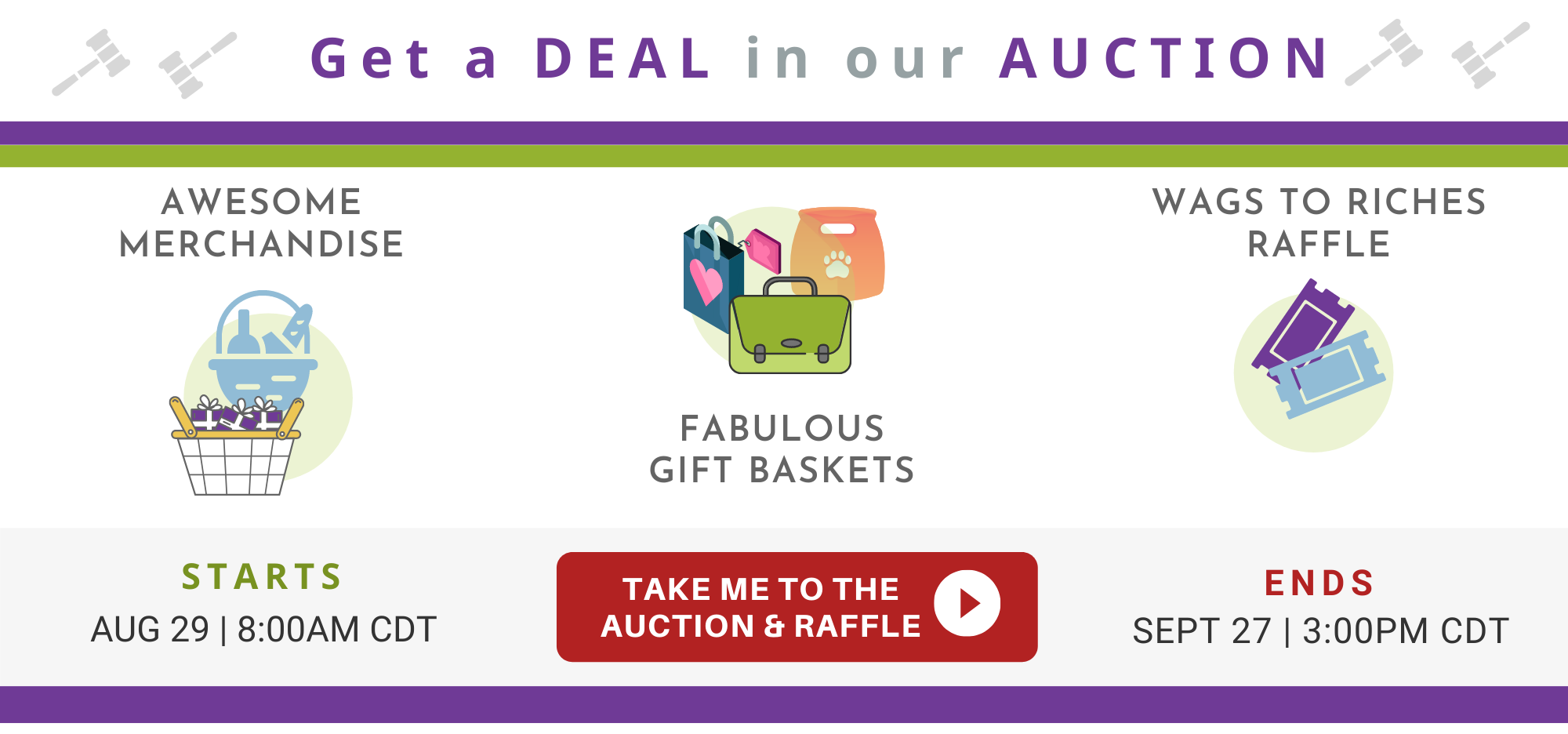 auction slider horizontal