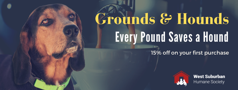 Grounds & Hounds Coffee Co. - Every Pound Saves A Hound!